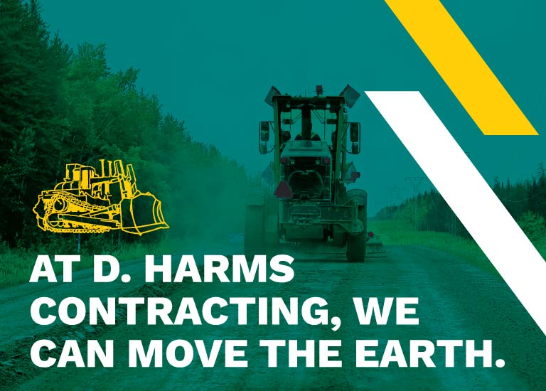 D. Harms Contracting - Mobile Slide 1